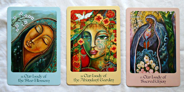 Mother Mary Oracle - Alana Fairchild Cards