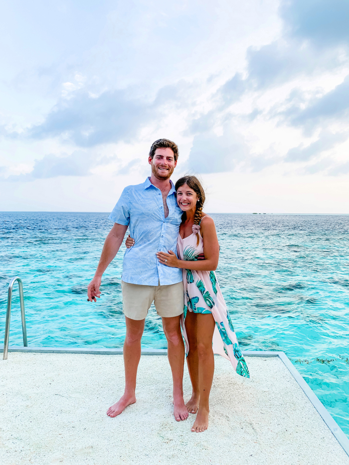 Honeymoon in the Maldives - Chasing Cinderella