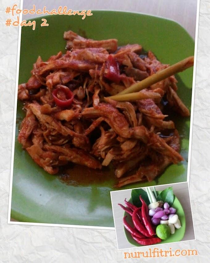 Resep Ayam Suwir Rica-rica