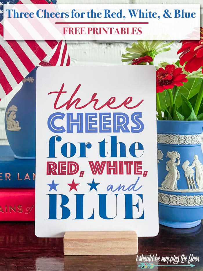 Three Cheers for the Red, White, and Blue