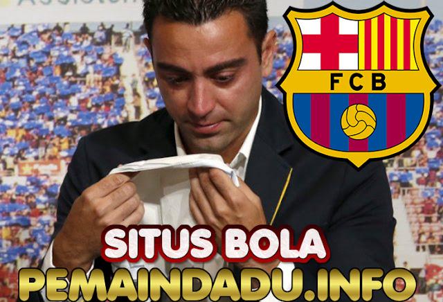 Playmaker Spanyol Xavi Hernandez Merasa Siap Melatih Barcelona