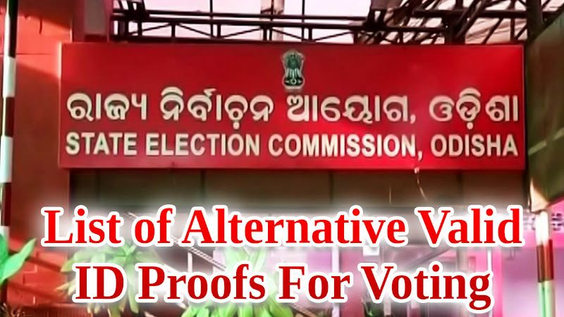 Odisha Panchayat Election 2017: List of Alternative Valid ID Proofs For Voting