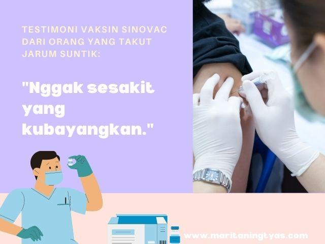 apakah vaksin covid sakit