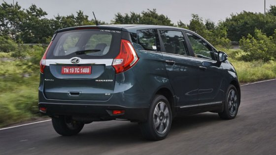 All New 2018 Mahindra Marazzo Test drive