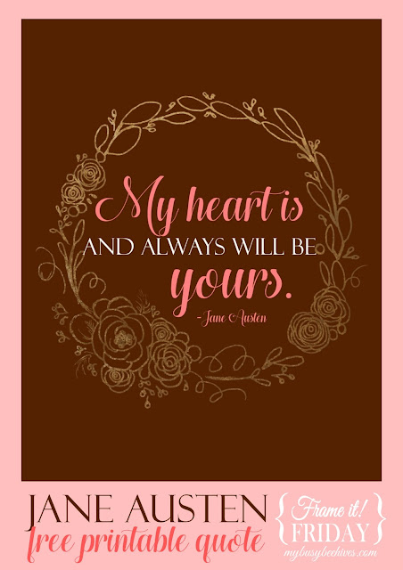 Jane Austen love quote