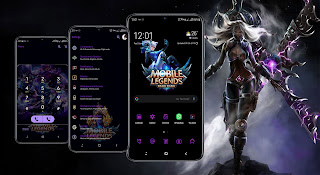Tema A10 Mobile Legend Samsung Galaxy Android 10 dan 9 ( Pie )