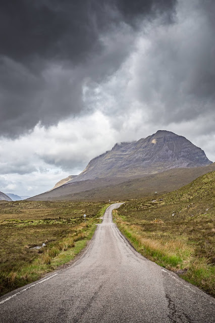 NC500 road by Laurence Norah