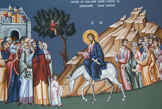 Risultati immagini per icone del western rite della domenica delle palme