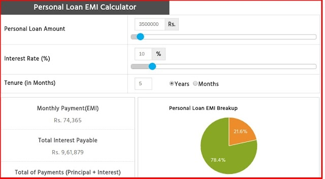 How to Easily Calculate Personal Loan EMIs Online?
