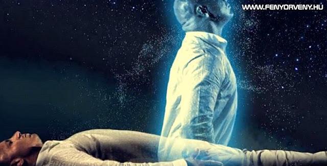 Így hagyja el a lélek a testet (VIDEÓ)