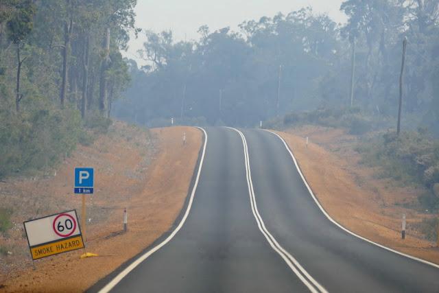 Smoke, Rauch, Hazard, Wald, Australien, Waldbrand, Warnung