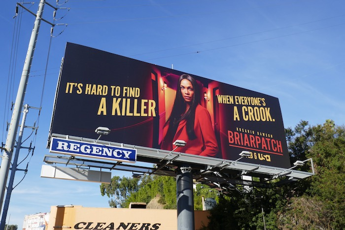 Briarpatch series premiere billboard