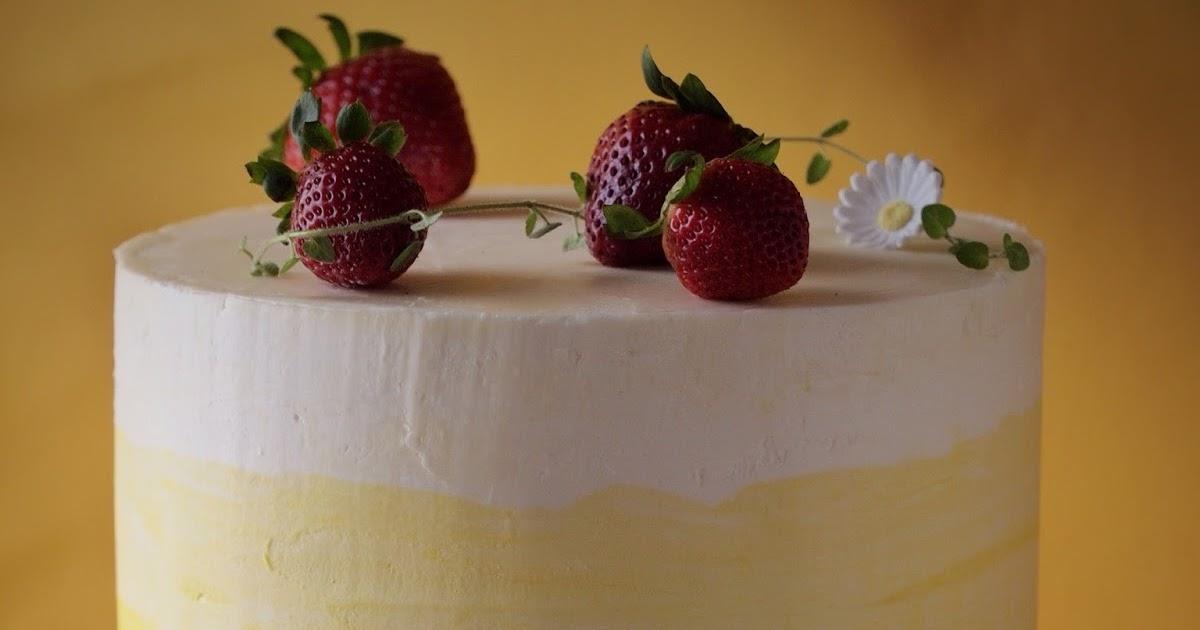 Strawberry Chiffon Cake Joy Of Baking