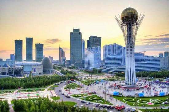 Cazaquistão moderno