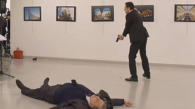 Pria Ini Tembak Mati Duta Besar Rusia untuk Ankara