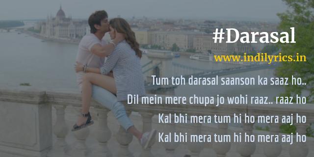 Darasal | Raabta | Sushant Singh Rajput & Kriti Sanon | Pics | Quotes