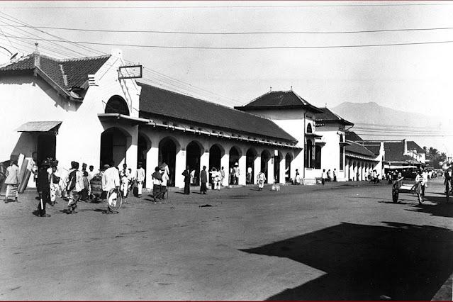 pasar besar kota malang zaman dulu