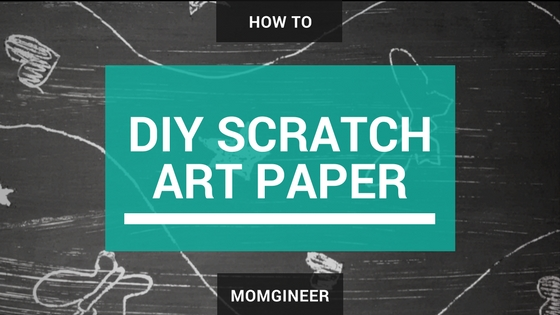 Easy DIY Scratch Art Paper
