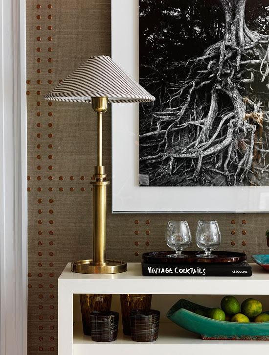 Studded Nailhead Upholstered Walls Elegant Wall Treatments