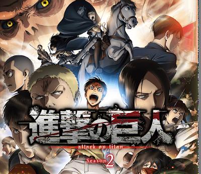 Resultado de imagen para shingeki no kyojin season 2 mega