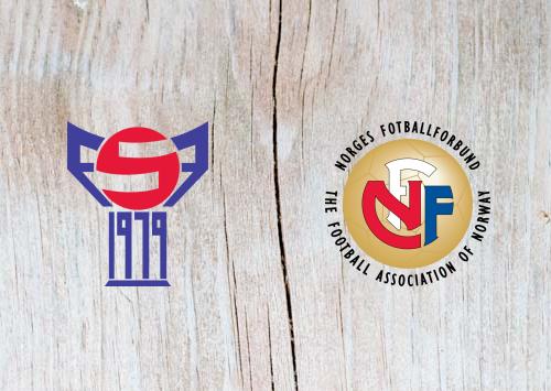 Faroe Islands vs Norway - Highlights 10 June 2019