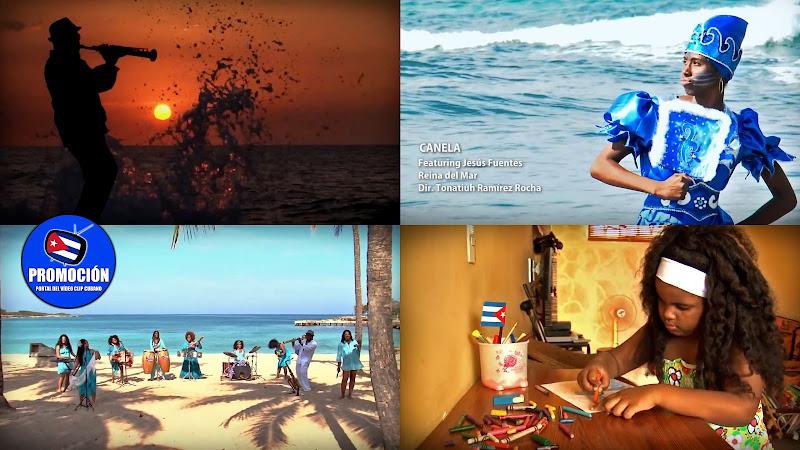 Canela de Cuba & Jesús Fuentes - ¨Reina del mar¨ (Julio Valdés) - Videoclip - Director: Tonatiuh Ramírez Rocha. Portal Del Vídeo Clip Cubano. Música cubana. Cuba.