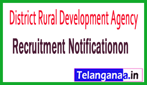 DRDA (District Rural Development Agency) Recruitment Notification