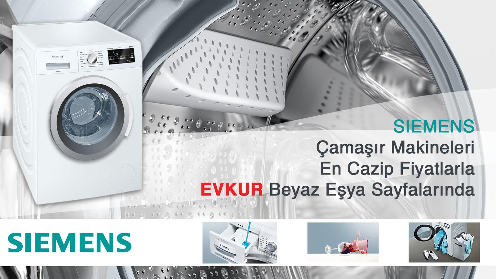 Siemens Çamaşır Makinesi Kampanyaları
