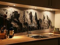 Moderner Fliesenspiegel Küche