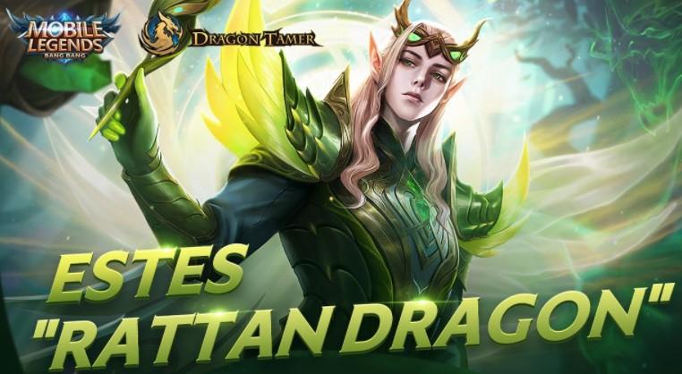 Skin ML Rattan Dragon