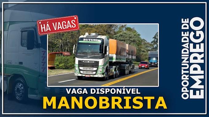 Transportadora Buturi abre vagas para Manobrista