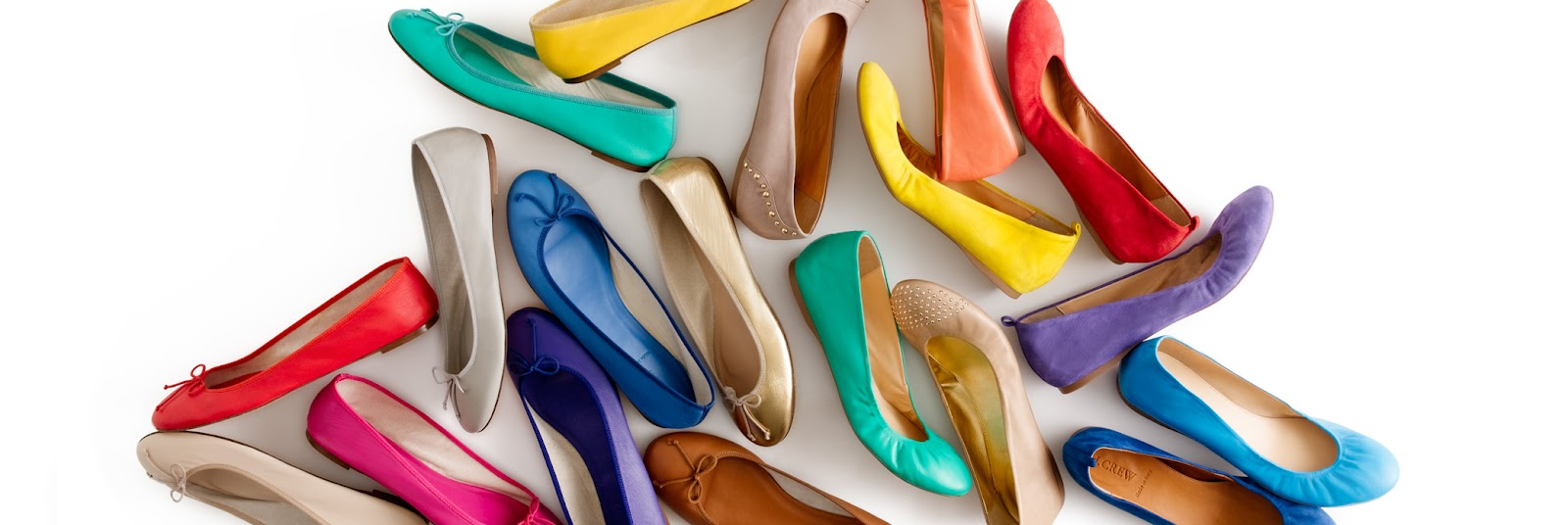 J Crew's Ballet Boutique Has Every Color Under The Sun