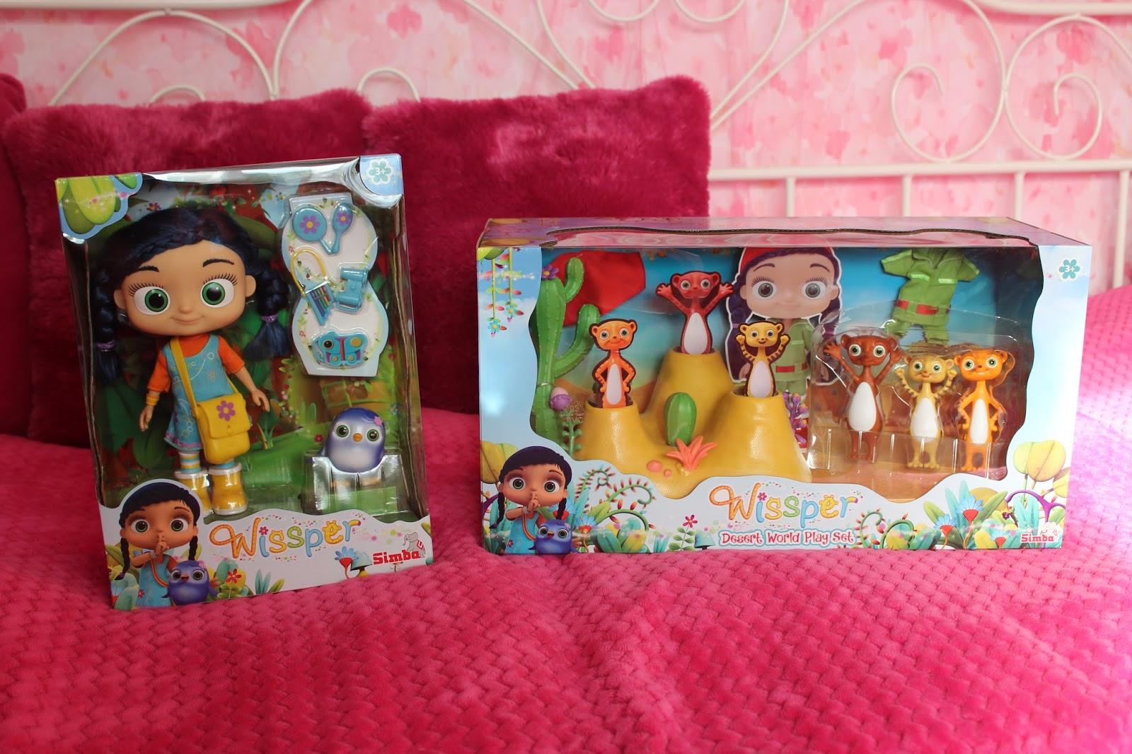 Cudowna Wissper- zabawki dla małych i dużych dziewczynek :)   Rodzina testuje AD57
