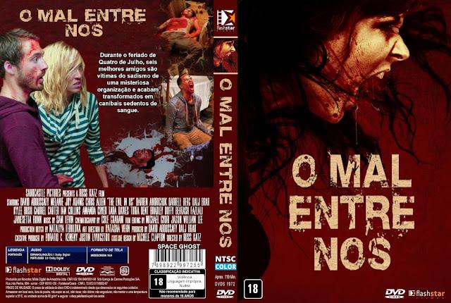 Capa DVD O Mal Entre Nós