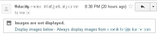 enable images temporarily or permanently