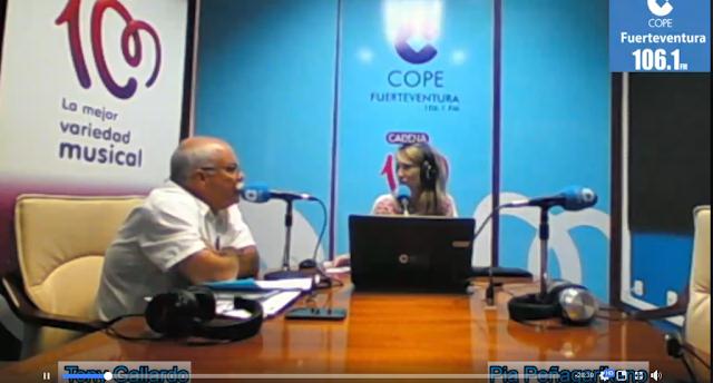 Fuerteventura.- Tony Gallardo llama a la calma y  participación para elaborar la normativa de gestión de las Zonas Especiales de Conservación (ZEC)