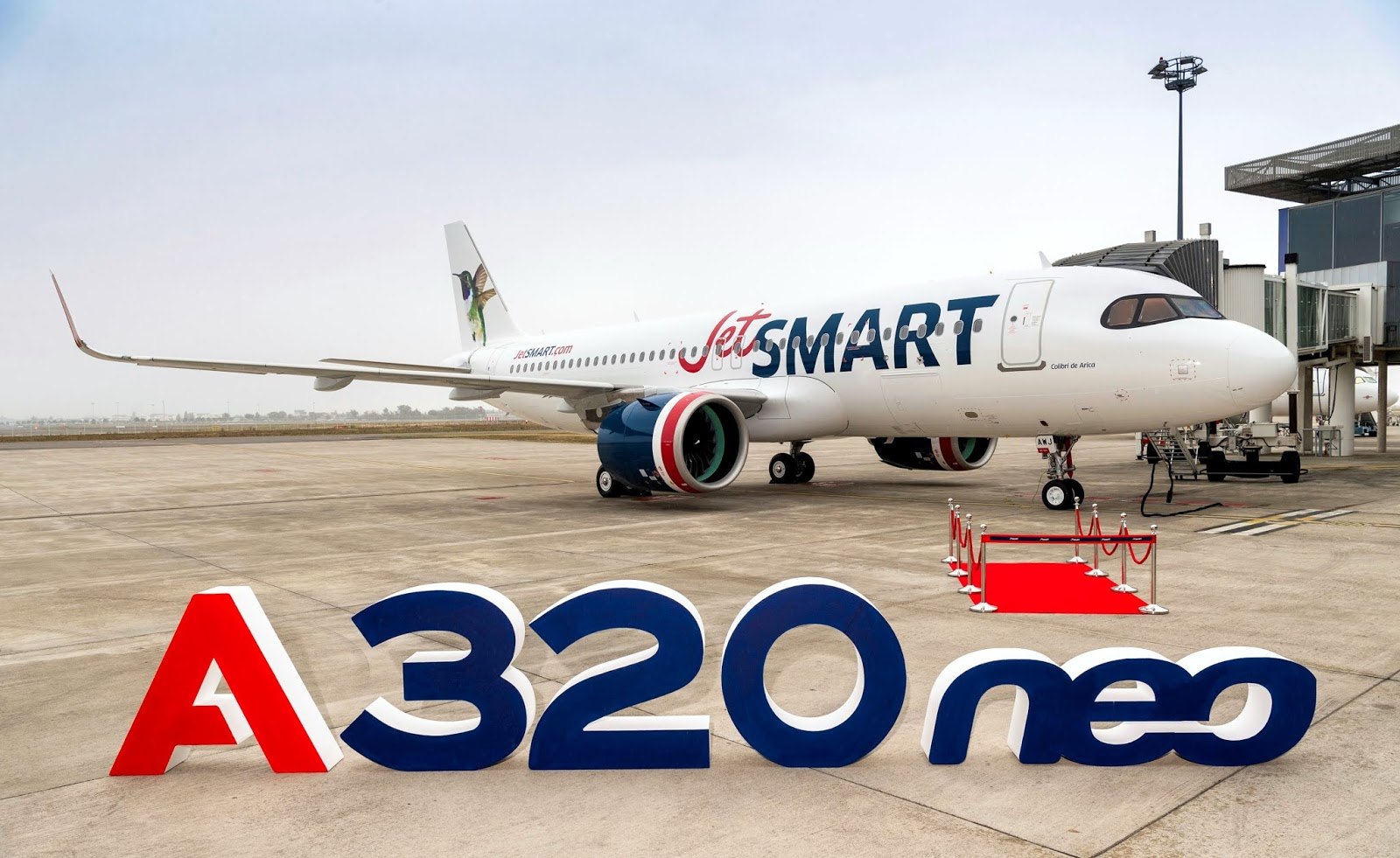 JetSmart Airbus A320neo October 2019 Delivery