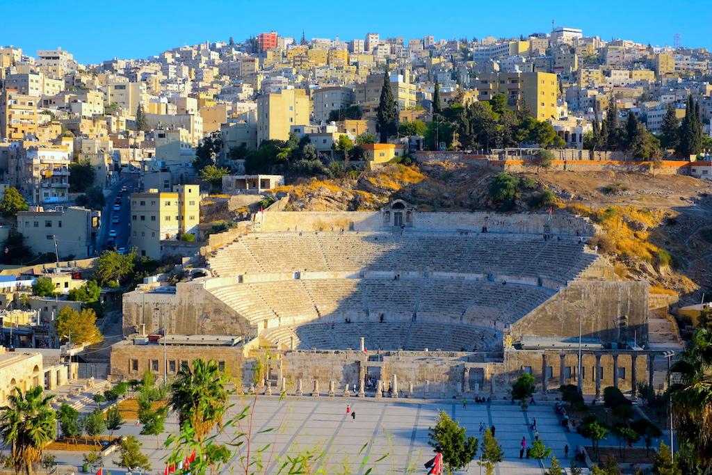 Liburan ke Jordan (Jerash dan Amman) - Roman Theater