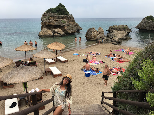Przepiękna plaża na Zakynthos