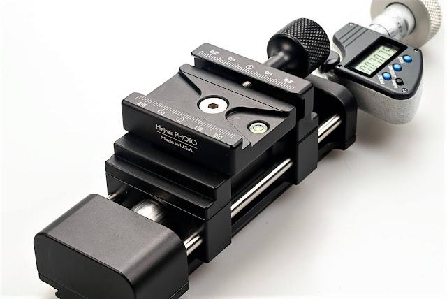 Hejnar MS4-1DS Digital Micrometer 72b QR Clamp