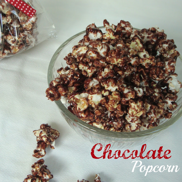 Chocolate Popcorn from Chocolate, Chocolate, and More Chocolate