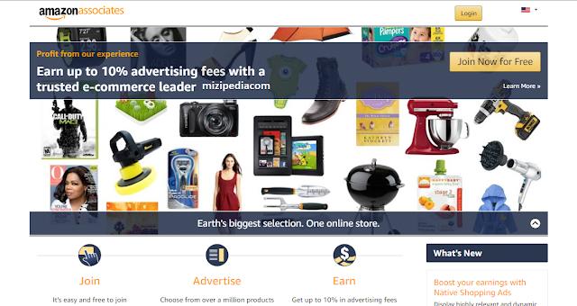 Cara daftar Menjadi affiliate amazon.com
