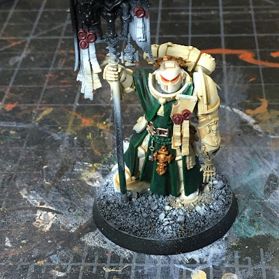 Dark Angels Indomitus Deathwing Bladeguard Ancient WIP