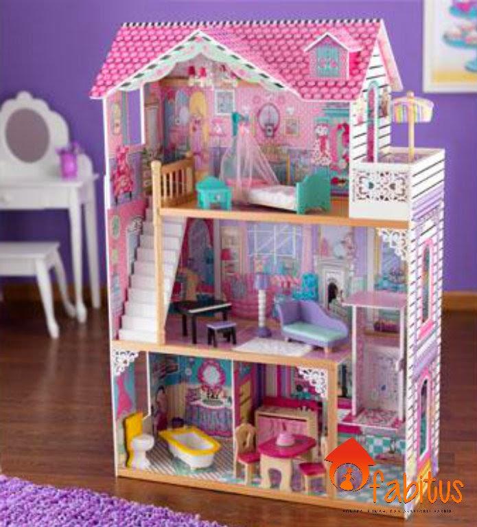 referensi desain custom rumah boneka barbie 4
