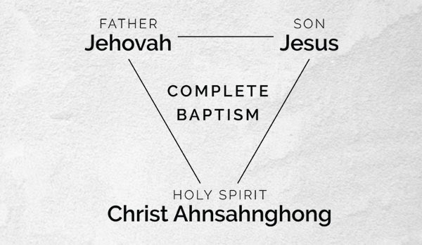 Name of the Saviour in the age Holy Spirit - Ahnsahnghong