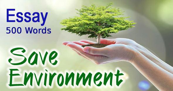 save environment essay