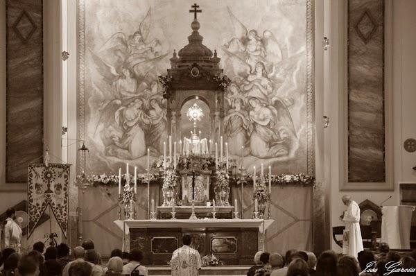 Procesión eucarística de este Domingo en Sevilla: Horarios e Itinerarios