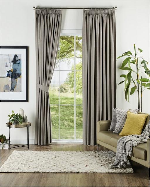 spotlight grey blockout curtains on sale