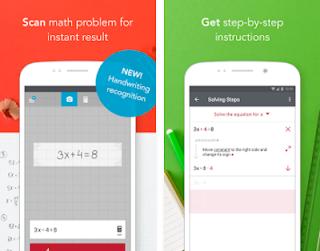 Math homework help app