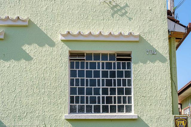 Casa na Rua Colombo - detalhe janela